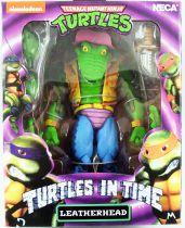 TMNT Tortues Ninja - NECA - Turtles In Time Leatherhead