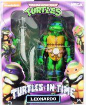 TMNT Tortues Ninja - NECA - Turtles In Time Leonardo