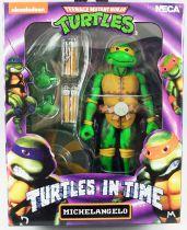 TMNT Tortues Ninja - NECA - Turtles In Time Michelangelo