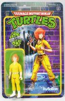 TMNT Tortues Ninja - Super7 ReAction Figures - April O\'Neil