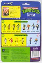 TMNT Tortues Ninja - Super7 ReAction Figures - Krang