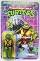 TMNT Tortues Ninja - Super7 ReAction Figures - Leonardo