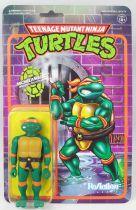 TMNT Tortues Ninja - Super7 ReAction Figures - Michelangelo