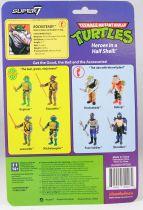 TMNT Tortues Ninja - Super7 ReAction Figures - Rocksteady
