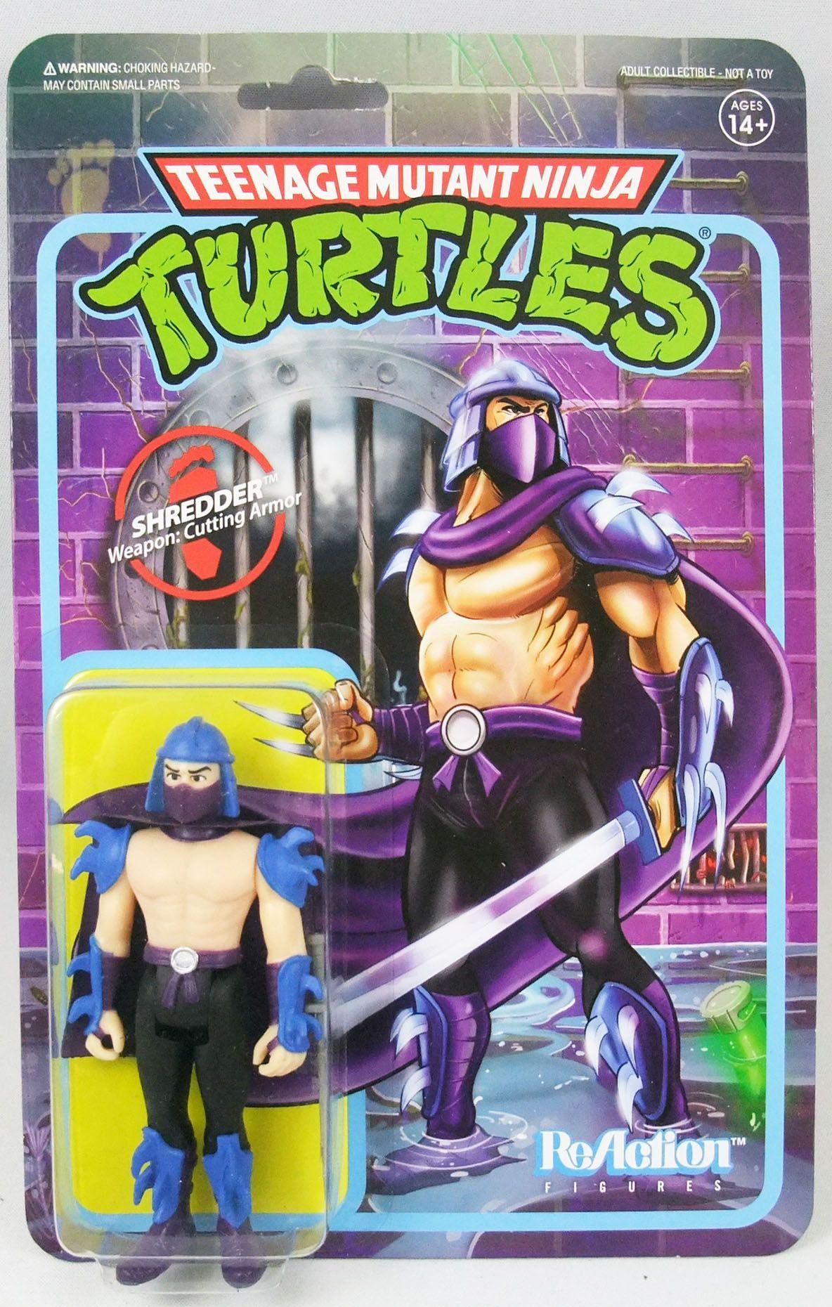 TMNT Tortues Ninja - Super7 ReAction Figures - Shredder