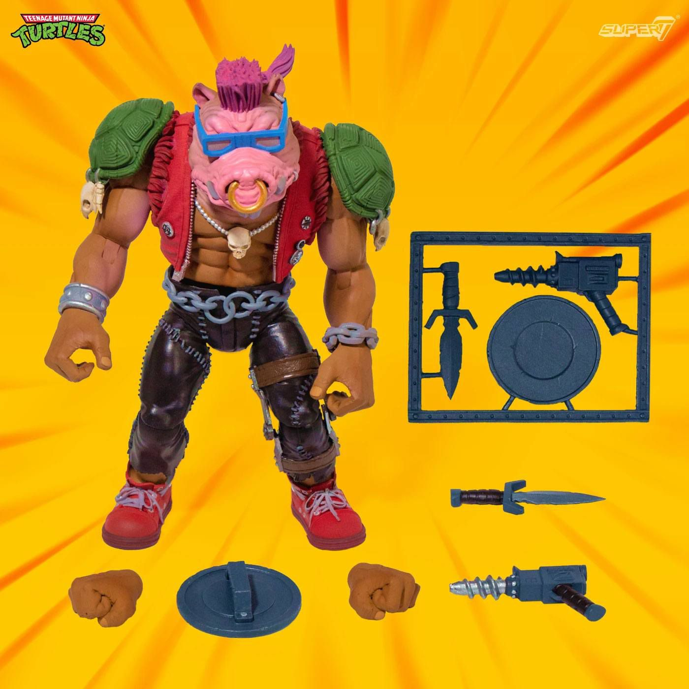 TMNT Tortues Ninja - Super7 Ultimates Figures - Bebop