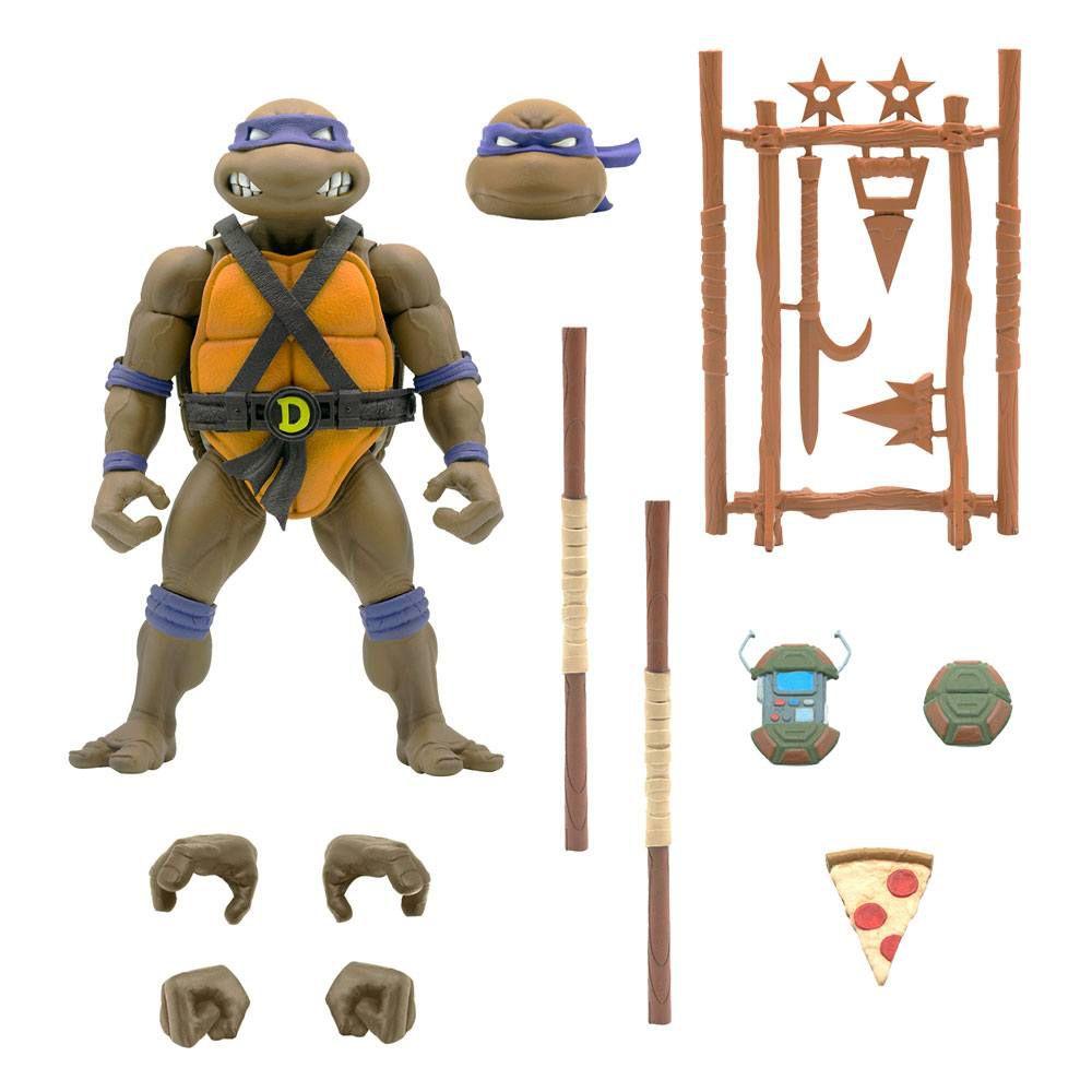 TMNT Tortues Ninja - Super7 Ultimates Figures - Donatello