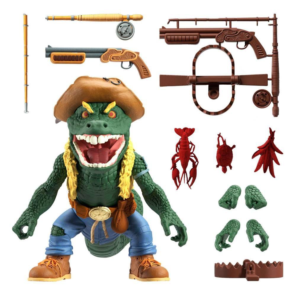 TMNT Tortues Ninja - Super7 Ultimates Figures - Leatherhead