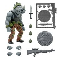 TMNT Tortues Ninja - Super7 Ultimates Figures - Rocksteady