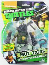 TMNT Tortues Ninja (Nickelodeon 2012) - Mutations Mix & Match Rocksteady