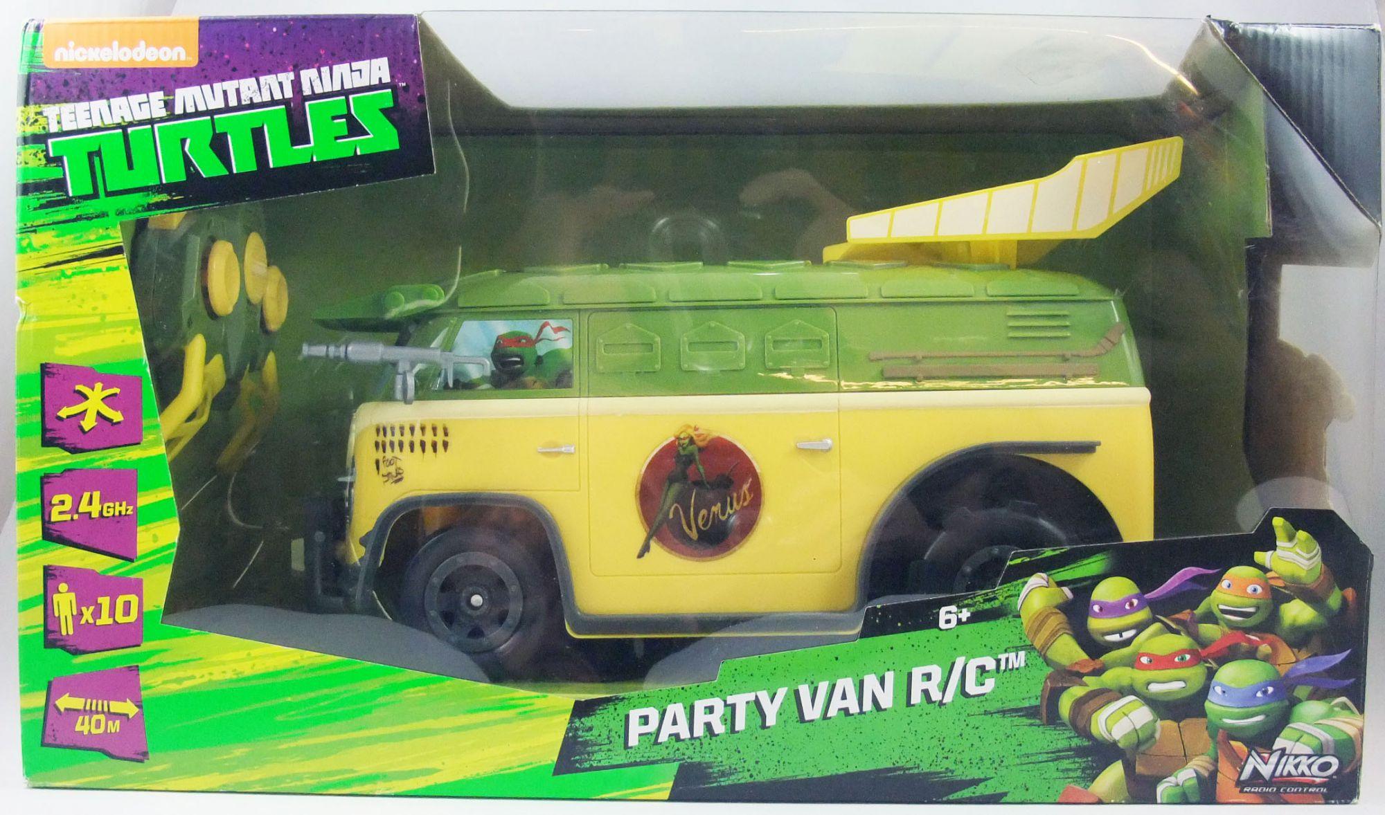 TMNT Tortues Ninja (Nickelodeon 2012) - Party Van R/C