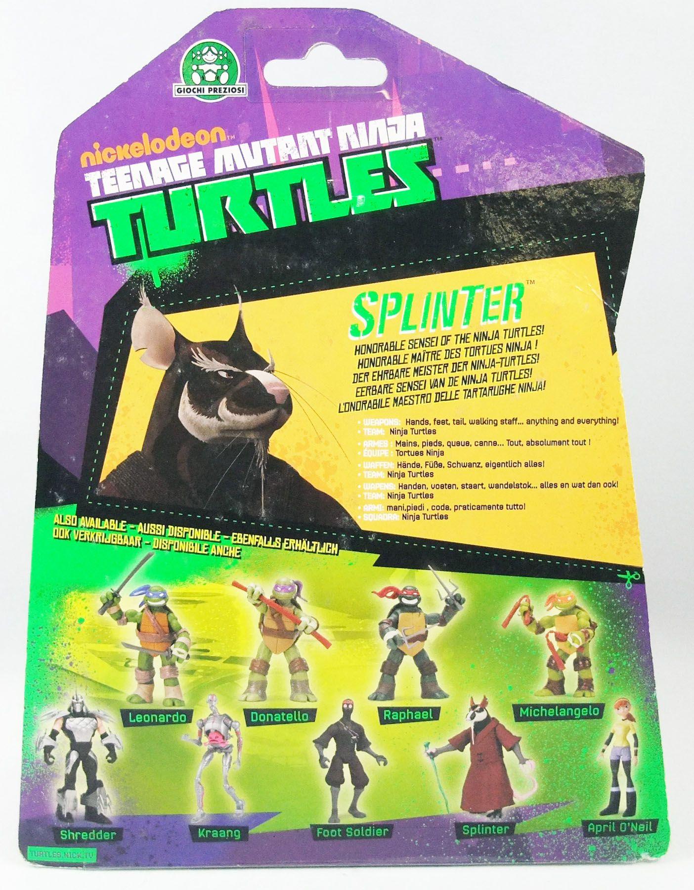 TMNT Tortues Ninja (Nickelodeon 2012) - Splinter