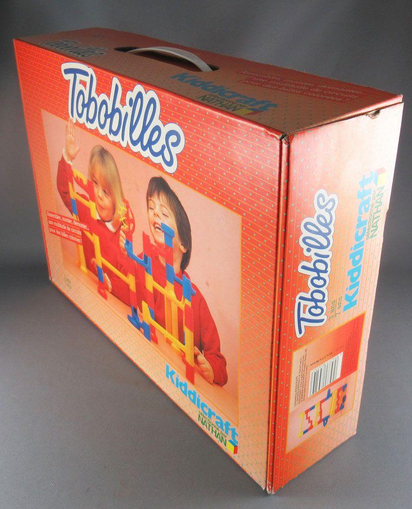 Tobobilles - Marbles Race Track Construction - Nathan Kiddicraft 1984 MIB