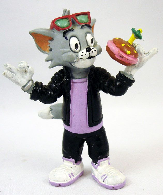 Tom & Jerry - Tom avec hamburger - Comic Spain 1989