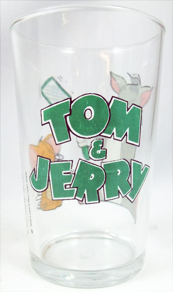 Tom & Jerry - Verre à Moutarde Amora 1967 - La tapette à mouche