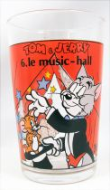 Tom & Jerry - Verre à Moutarde Maille 1989 - n°6 Le music-hall