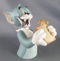 "Tom and Jerry - 5,5"" Statue Demons & Merveilles - Tom eating Jerry"