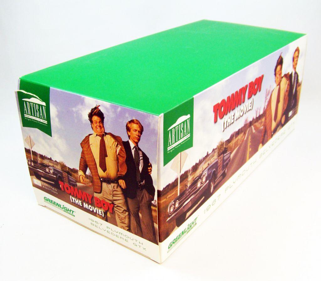 Tommy Boy (The Movie) - 1967 Plymouth Belveder GTX - Diecast 1:18ème Greenlight