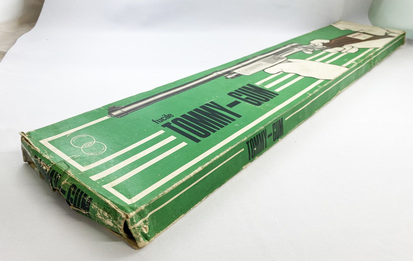Tommy-Gum - Universal FVM/Meccano - Fusil à Bouchon (1960\'s)