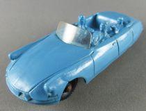 Tomte Laerdal N°21 Citroën DS Cabriolet Bleue 1/43