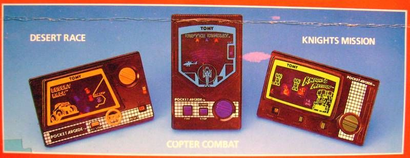 Tomy - Pocket Games Arcade Series - Desert Race