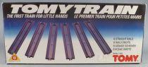 Tomy Train 1300 - 6 Straight Tracks - Mint in Sealed Box