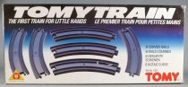 Tomy Train 1301 - 6 Curved Tracks - Mint in Sealed Box