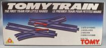Tomy Train 1301 - Set of 2 Points (left + right) - Mint in Sealed Box
