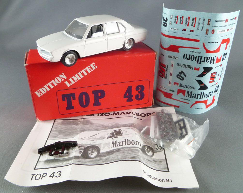 Top 43 Solido Réf 0021 BMW 5.28 Iso-Marlboro Neuve Boite