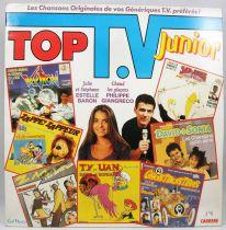 Top TV Junior - Disque 33T - Carrère 1988