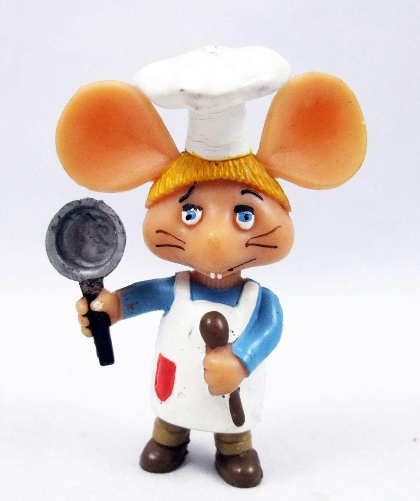Topo Gigio - Disvenda Pvc Figure - Cooking Chef Topo Gigio