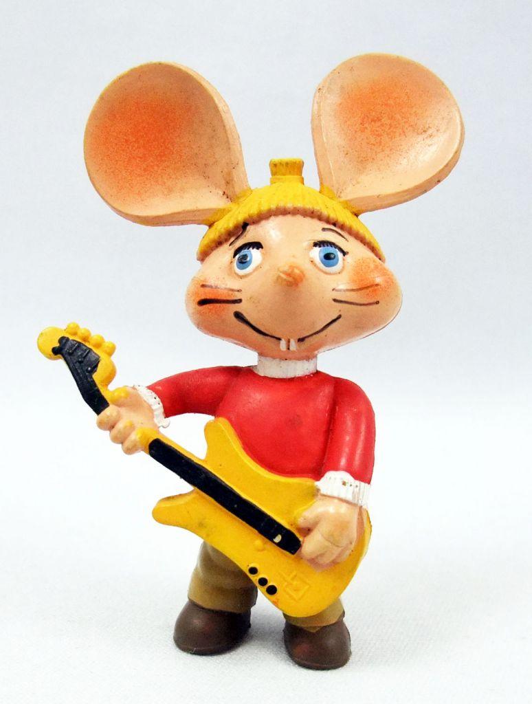Topo Gigio - Disvenda Pvc Figure - Guitarist Topo Gigio