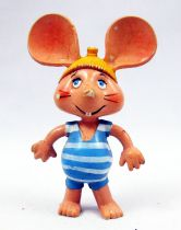Topo Gigio - Figurine Pvc Disvenda - Topo Gigio Baigneur