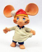 Topo Gigio - Figurine Pvc Disvenda - Topo Gigio en chemise de nuit