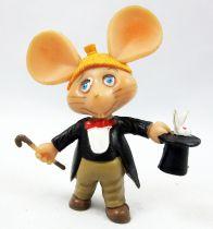 Topo Gigio - Figurine Pvc Disvenda - Topo Gigio Magicien