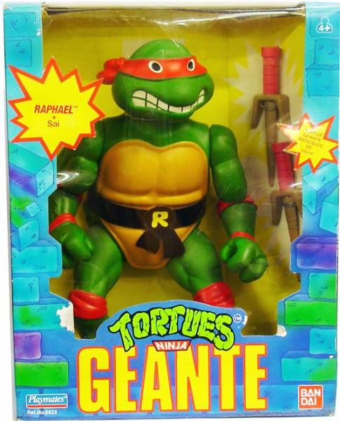 Tortues ninja 1989 giant turtles raphael - Tortue ninja raphaelo ...