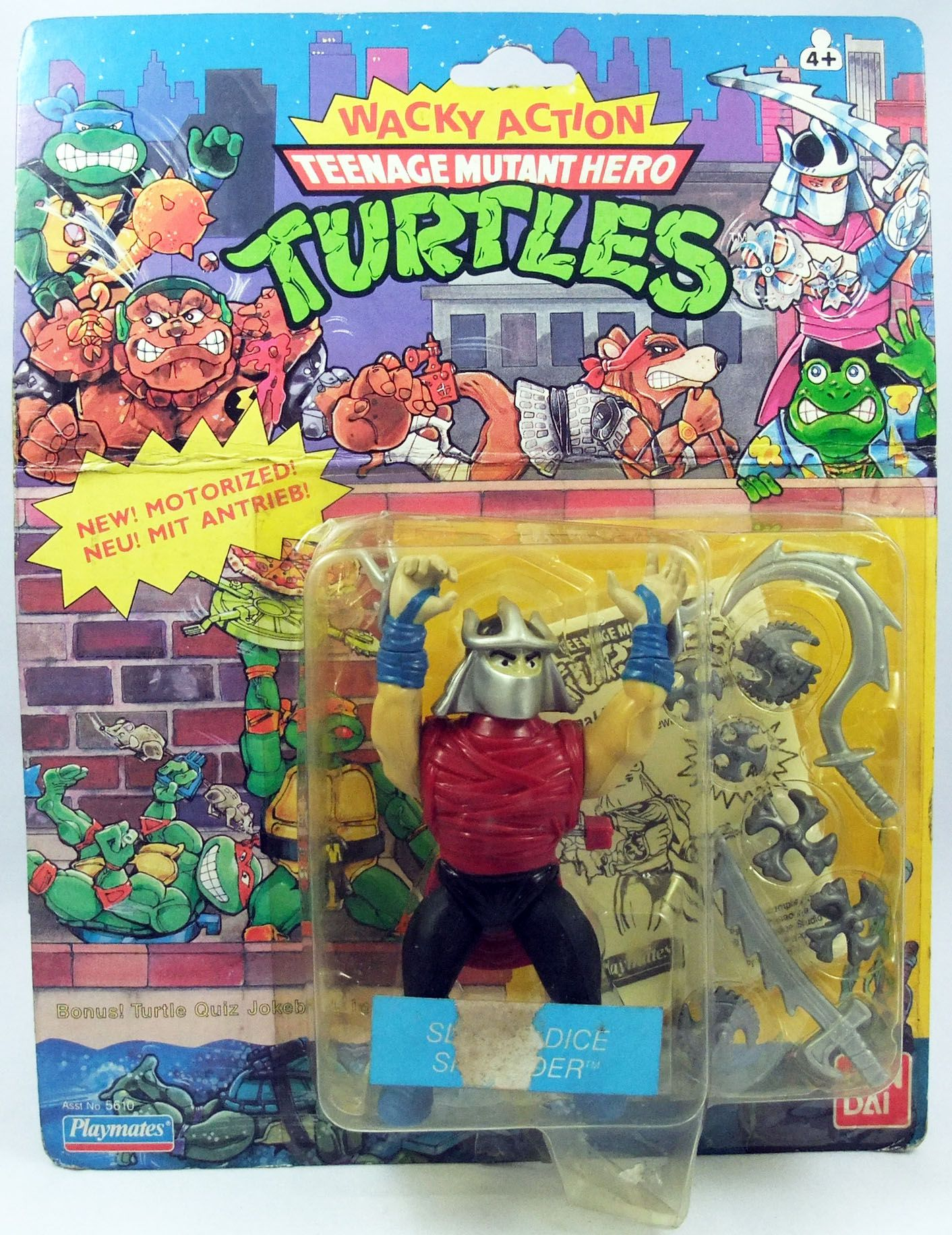 Tortues Ninja - 1989 - Wacky Action - Slice\'n Dice Shredder