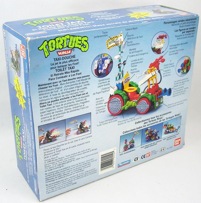Tortues Ninja - 1990 - Toilet Taxi / Taxi-Douche