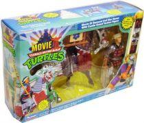 Tortues Ninja - 1992 - Movie III Samurai Evil War Horse avec Castle Guard
