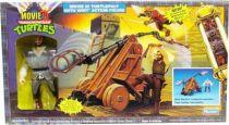Tortues Ninja - 1992 - Movie III Turtlepult avec Whit Casey Jones