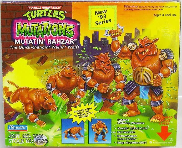 Tortues Ninja - 1993 - Mutations - Mutatin\' Rahzar