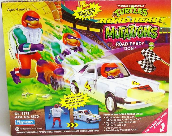 Tortues Ninja - 1993 - Road Ready Mutations - Road Ready Don