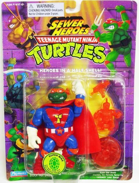 Tortues Ninja - 1993 - Sewer Heroes - Super Mike