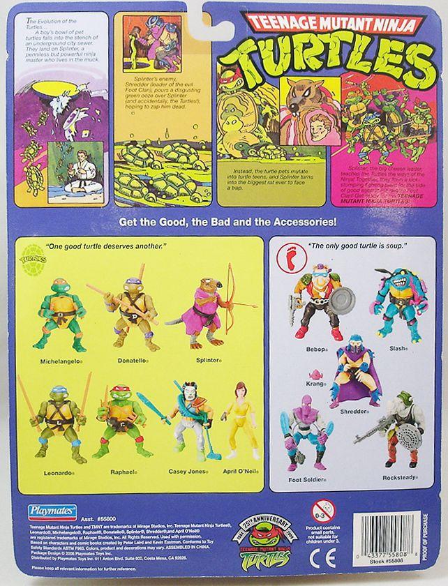 Tortues Ninja - 2009 - Leonardo (Edition 25ème Anniversaire)