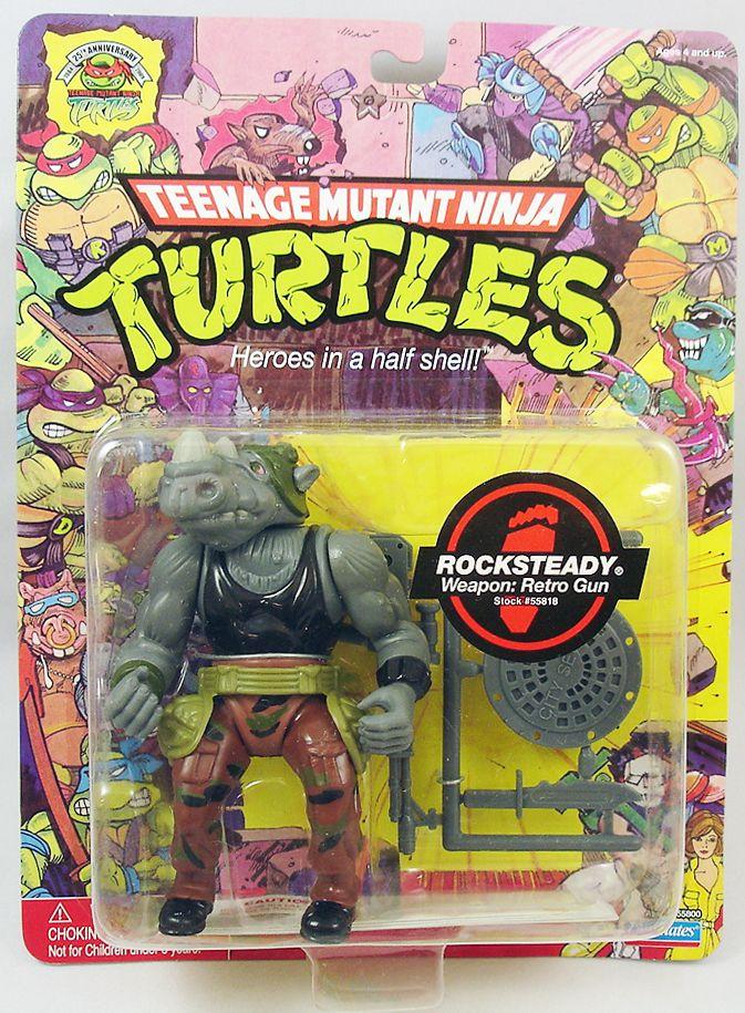 Tortues Ninja - 2009 - Rocksteady (Edition 25ème Anniversaire)