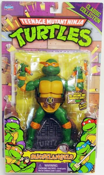 Tortues Ninja - 2012 - Classic Collection - Set des 4 Tortues : Léonardo, Raphael, Michelangelo, Donatello
