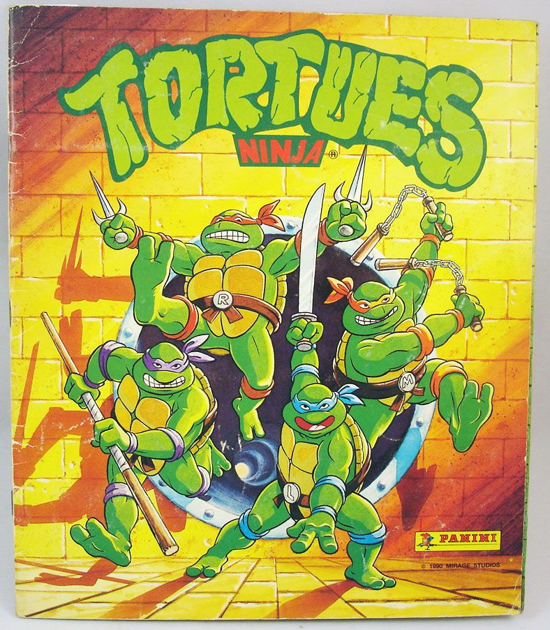 Tortues Ninja - Album Panini 1990