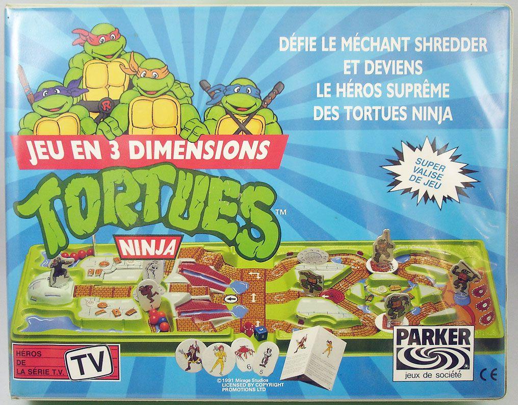 Tortues Ninja - Parker - Jeu en 3 Dimensions