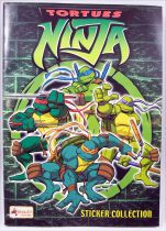 Tortues Ninja - Sticker Album Collecteur de vignettes - Merlin Collection 2003