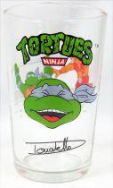 Tortues Ninja - Verre à moutarde Amora 1990 - Donatello Signature Portrait